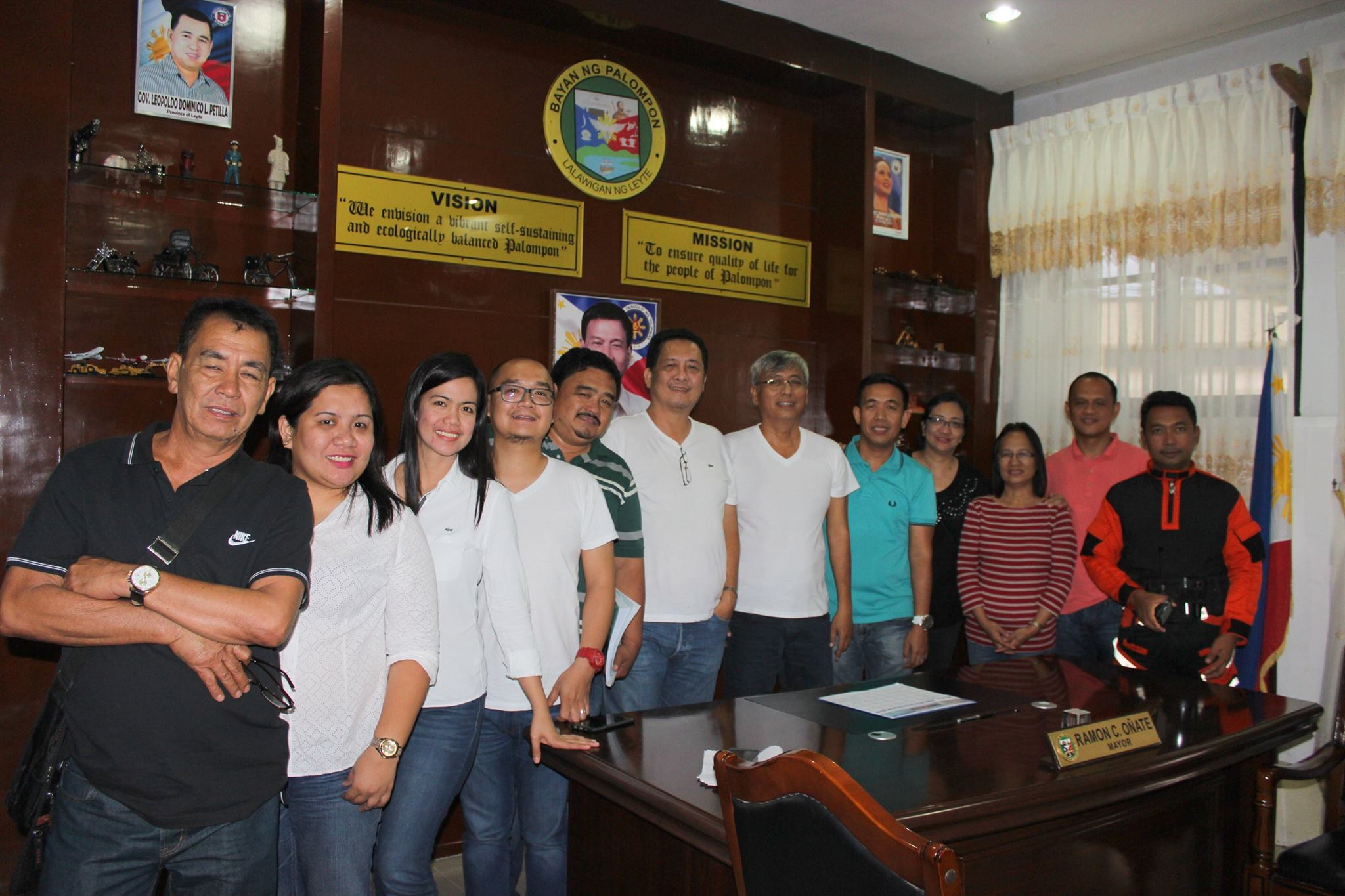 Palompon welcomes the LGU officials of General Tinio, Nueva Ecija led by Hon. Mayor Ferdinand P. Bote