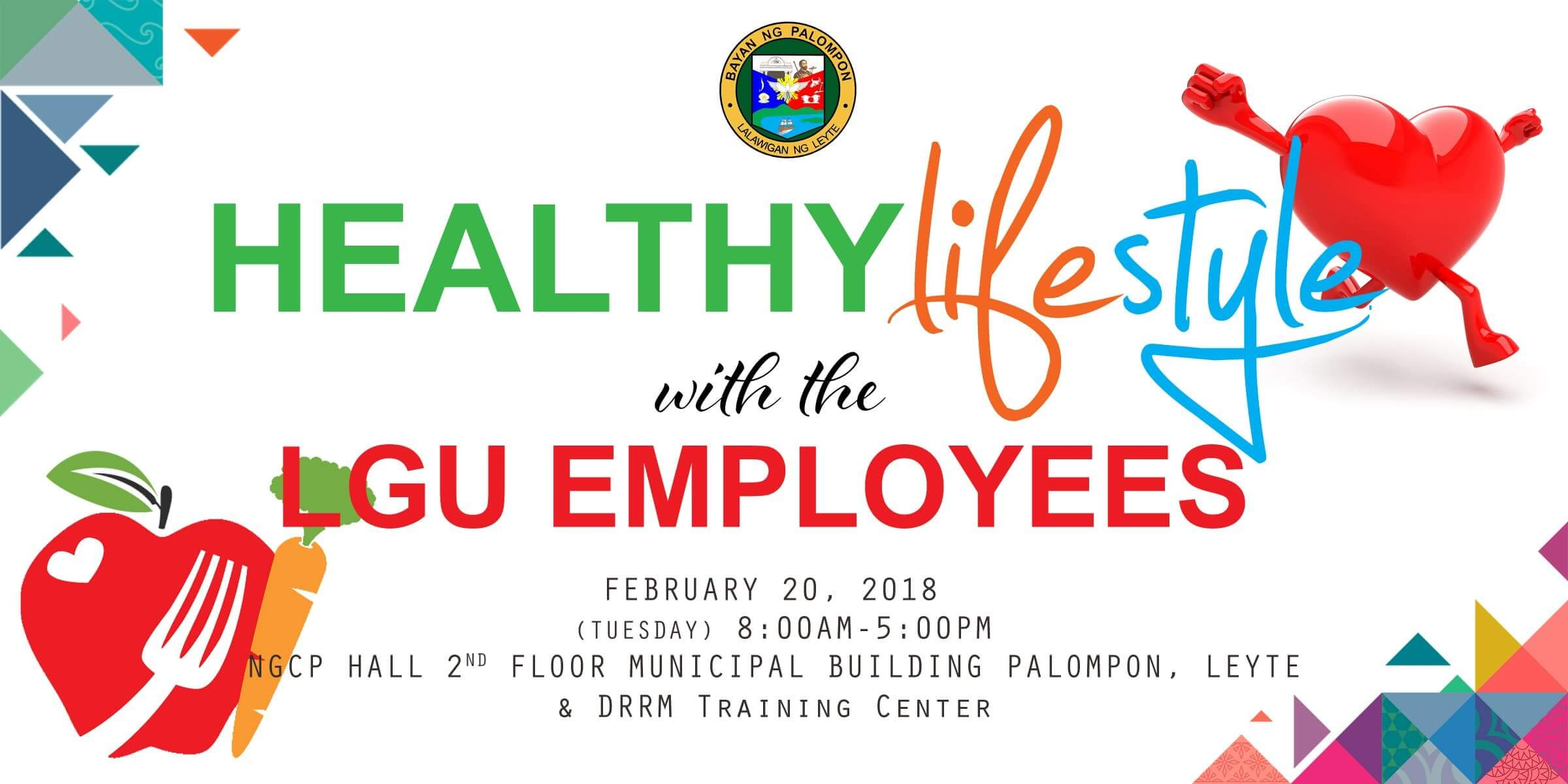 HEALTHY LIFESTYLE with the LGU EMPLOYEES