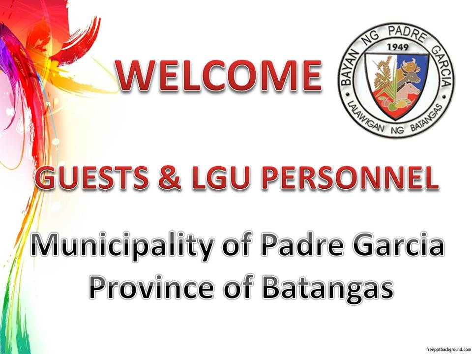 Palompon welcomes the Lgu Personnel of Padre Garcia, Batangas Province.