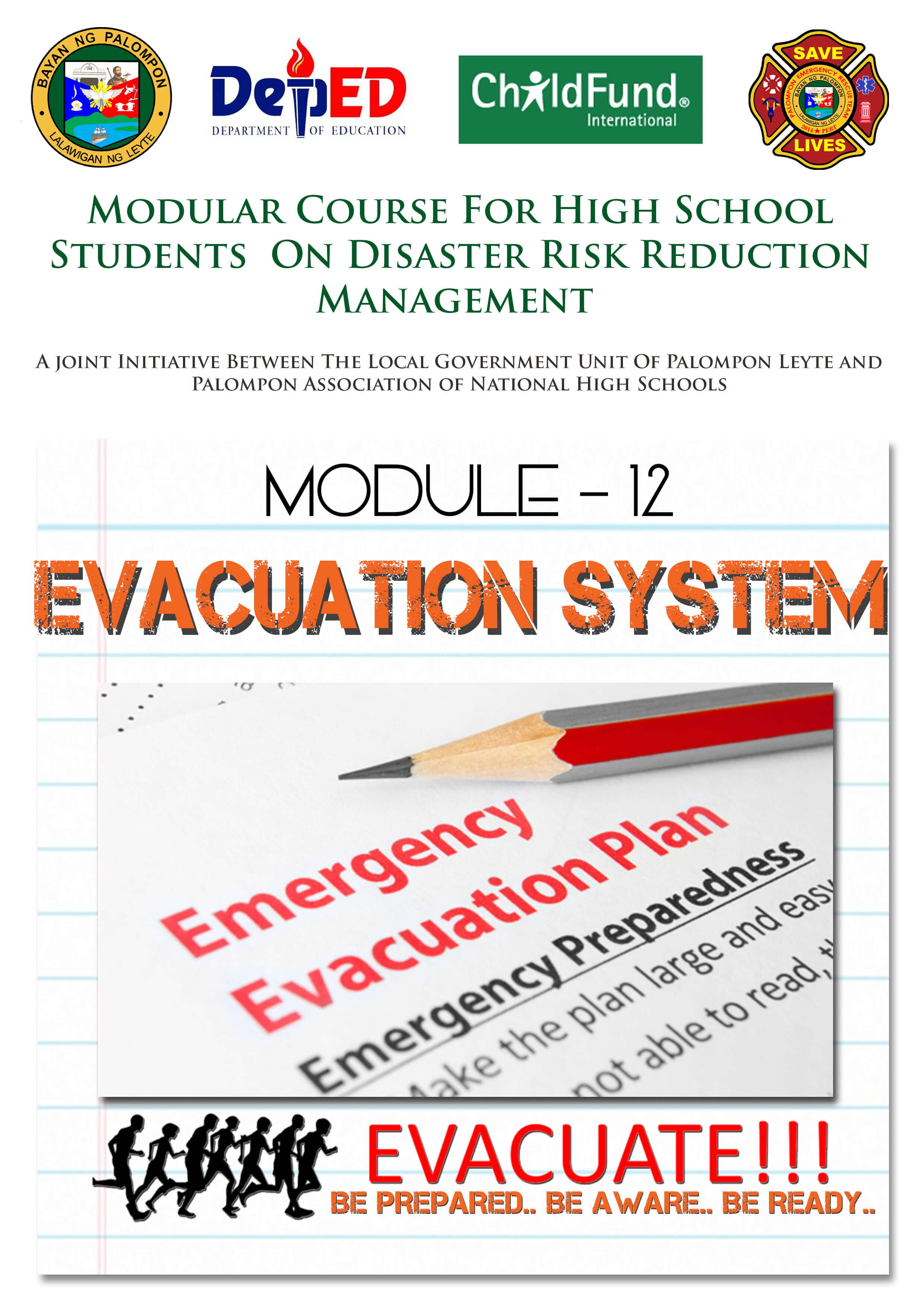 Module -12, 14 &1 9: Modular Course for High School Students On DRRM