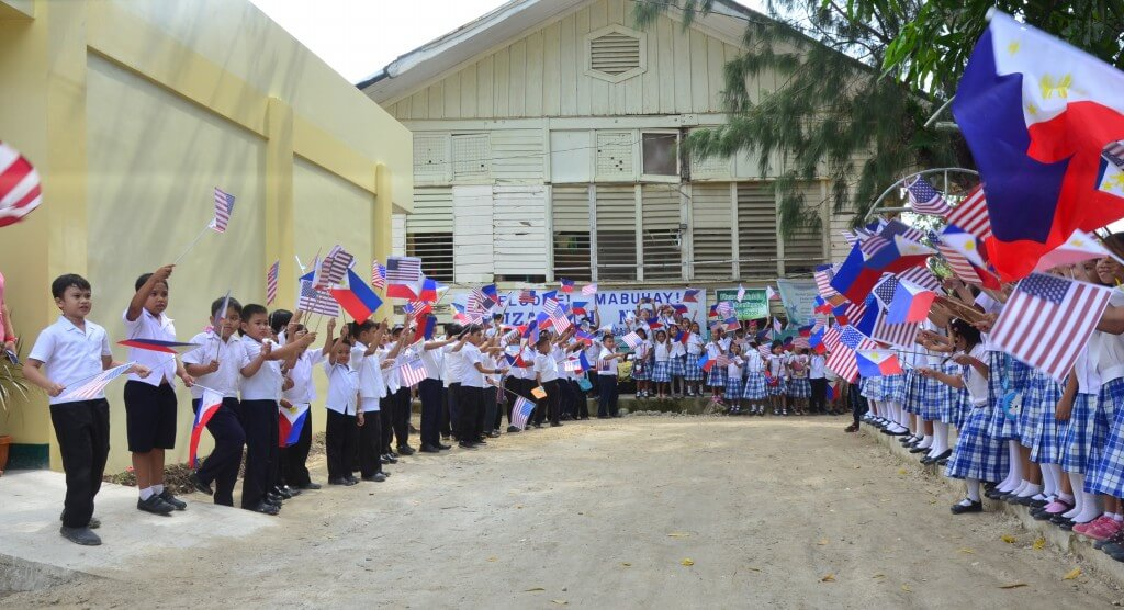 Turnover Ceremony of Six-Classroom School Building of  Palompon South Central School