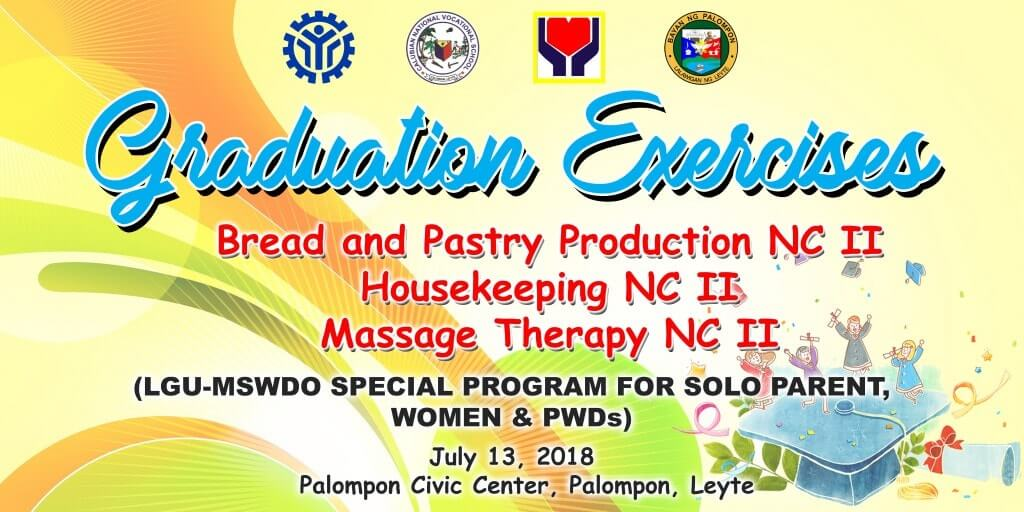 Bread and Pastry, Housekeeping & Massage Therapy NC-2 Graduation