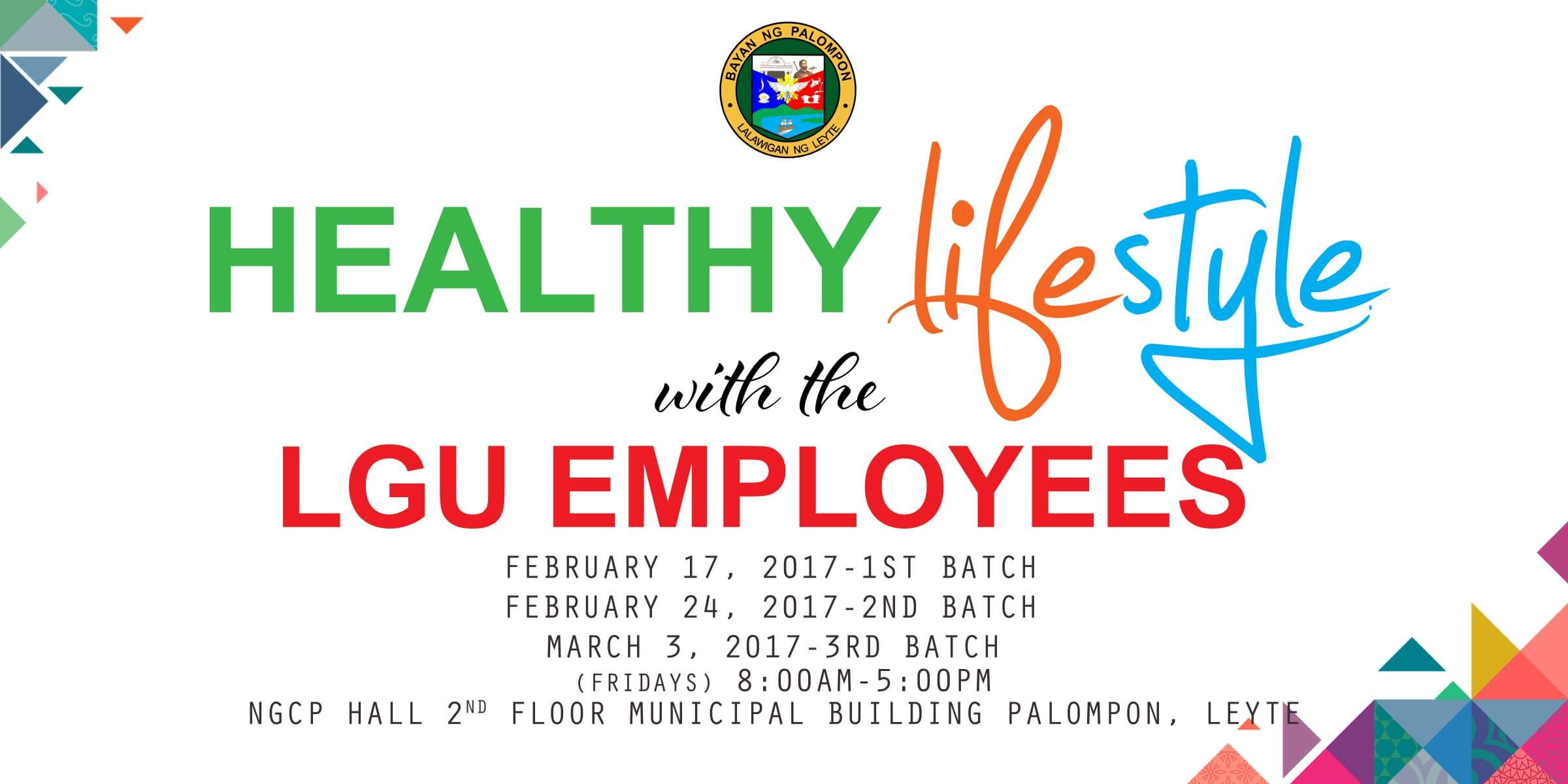 Healthy Lifestyle Program with the LGU Employees
