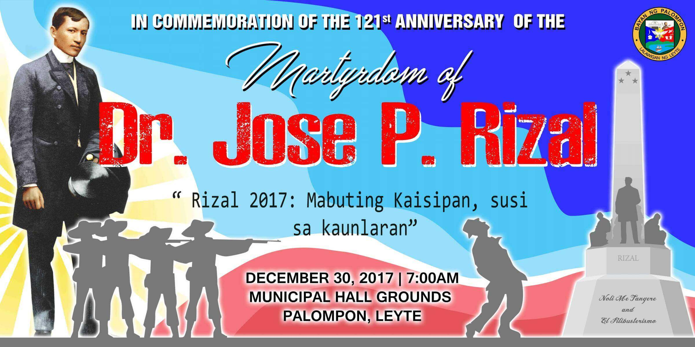 121st Anniversary of the Martyrdom of Dr. Jose P. Rizal