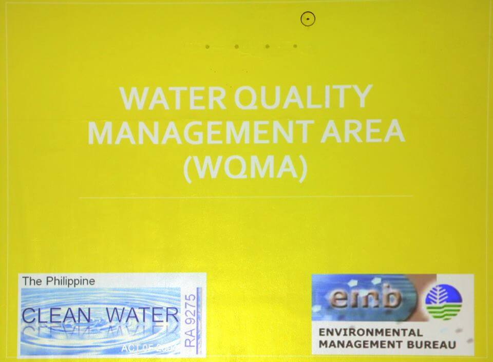 ORIENTATION ON WATER QUALITY MANAGEMENT AREA