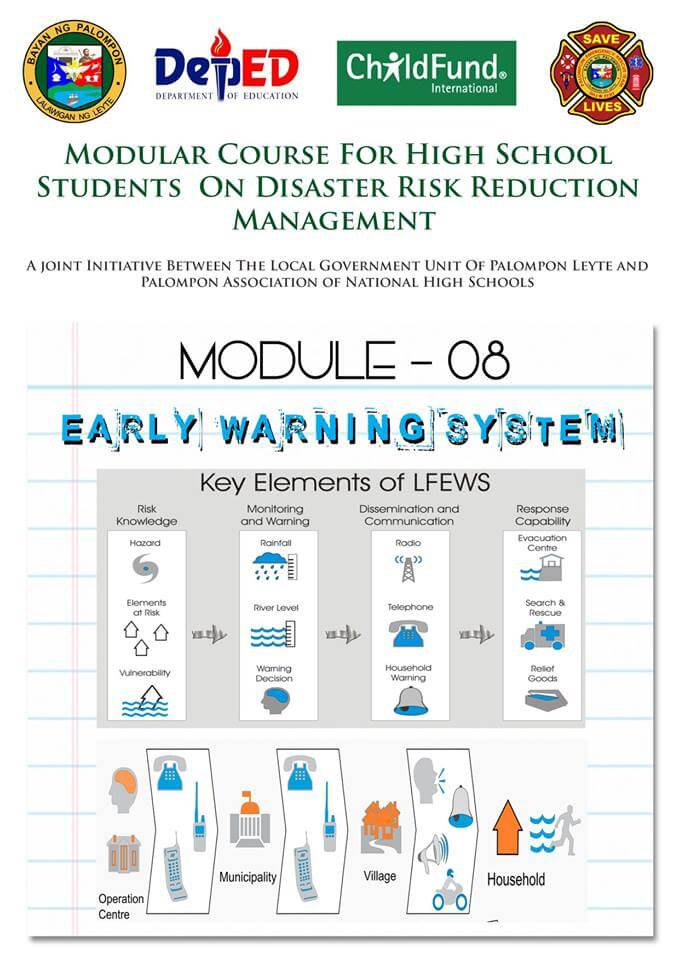 Module 6,7,8,11&12 Modular Course High School Students On DRRM