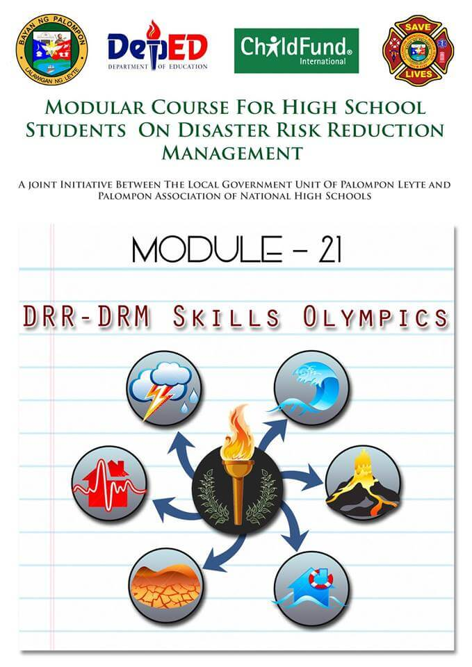 Module -21 Modular Course High School Students On DRRM