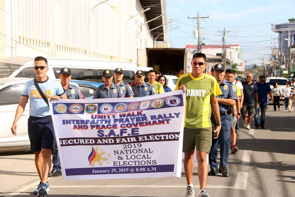 Unity Walk,Prayer Rally and Peace Covenant Signing