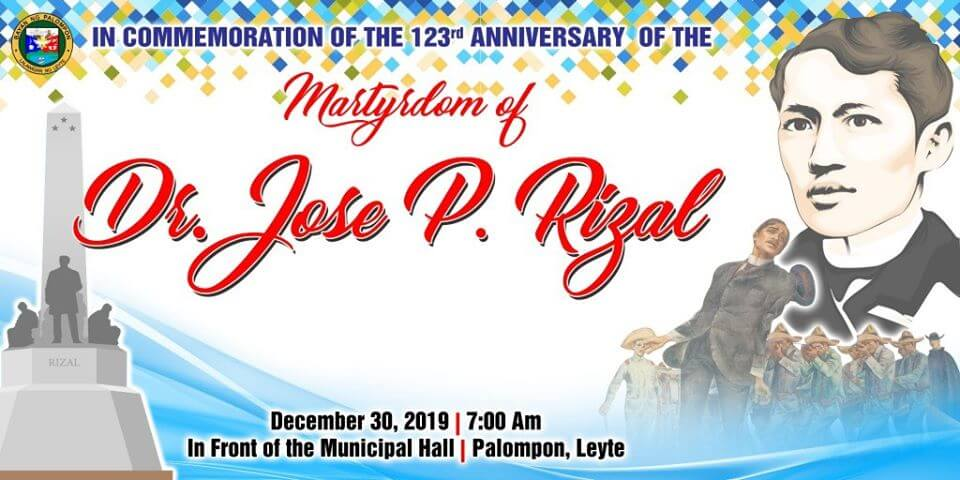 123rd Anniversary of the Martyrdom of Dr. Jose P. Rizal