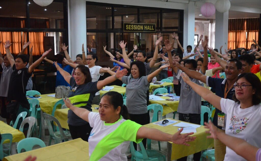 Healthy Lifestyle Program with the LGU Employees 3rd Batch