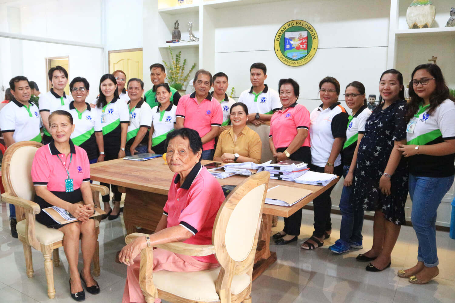 The PACCI CEO Arcelene F. Sorgillo, Officers and Staff Paid a Courtesy Call to Our New Municipal Mayor Hon. Myra Georgina L. Arevalo, MD. in her Office