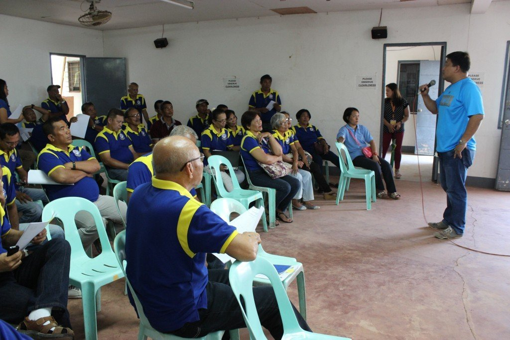 "The 31st Association of Barangay Captain's meeting held @ ABC hall. * Palompon Bfp Chief fire marshall Hermes Cadion conducted an info. desimination about illigal selling of gasoline fuel. Diplomatic approach in eradicating the ""BOTE-BOTE"" system. *KALAHI-CIDSS-NCDDP personel updates on KALAHI projects etc."