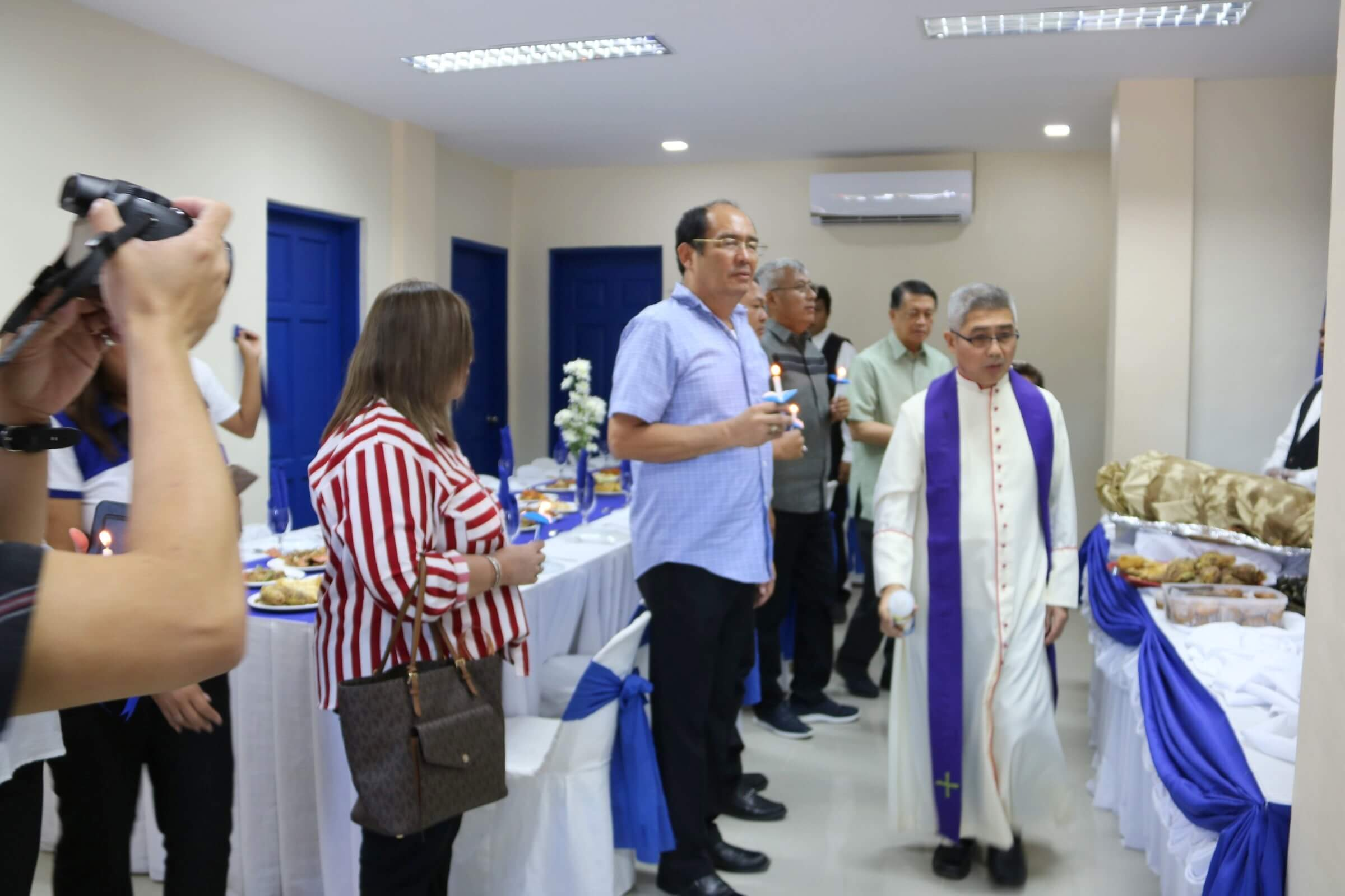 Blessing Ceremony & Ribbon Cutting of the LTO Palompon District Office New Building