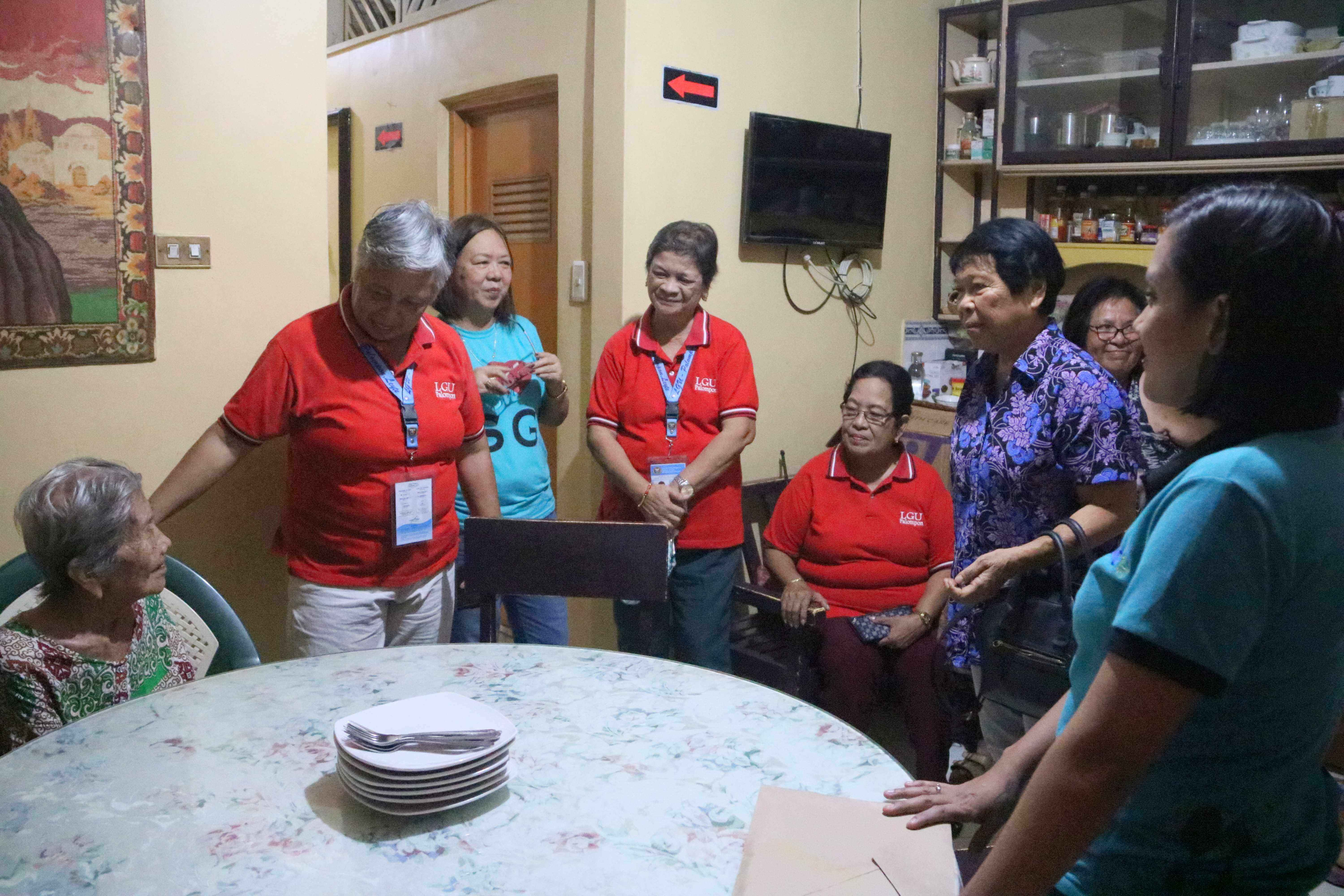 Graced by Longevity and Good Health, Mrs. Concepcion Pinar of Brgy. Tabunok Palompon