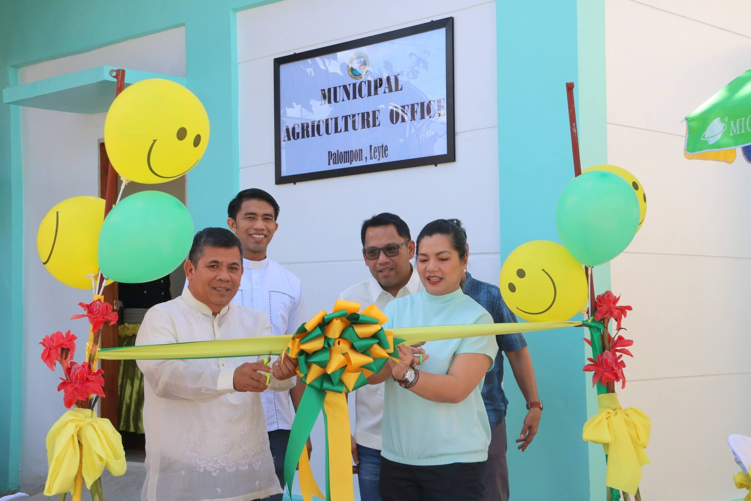Thanks Giving & Blessing of New Municipal Agriculture Office