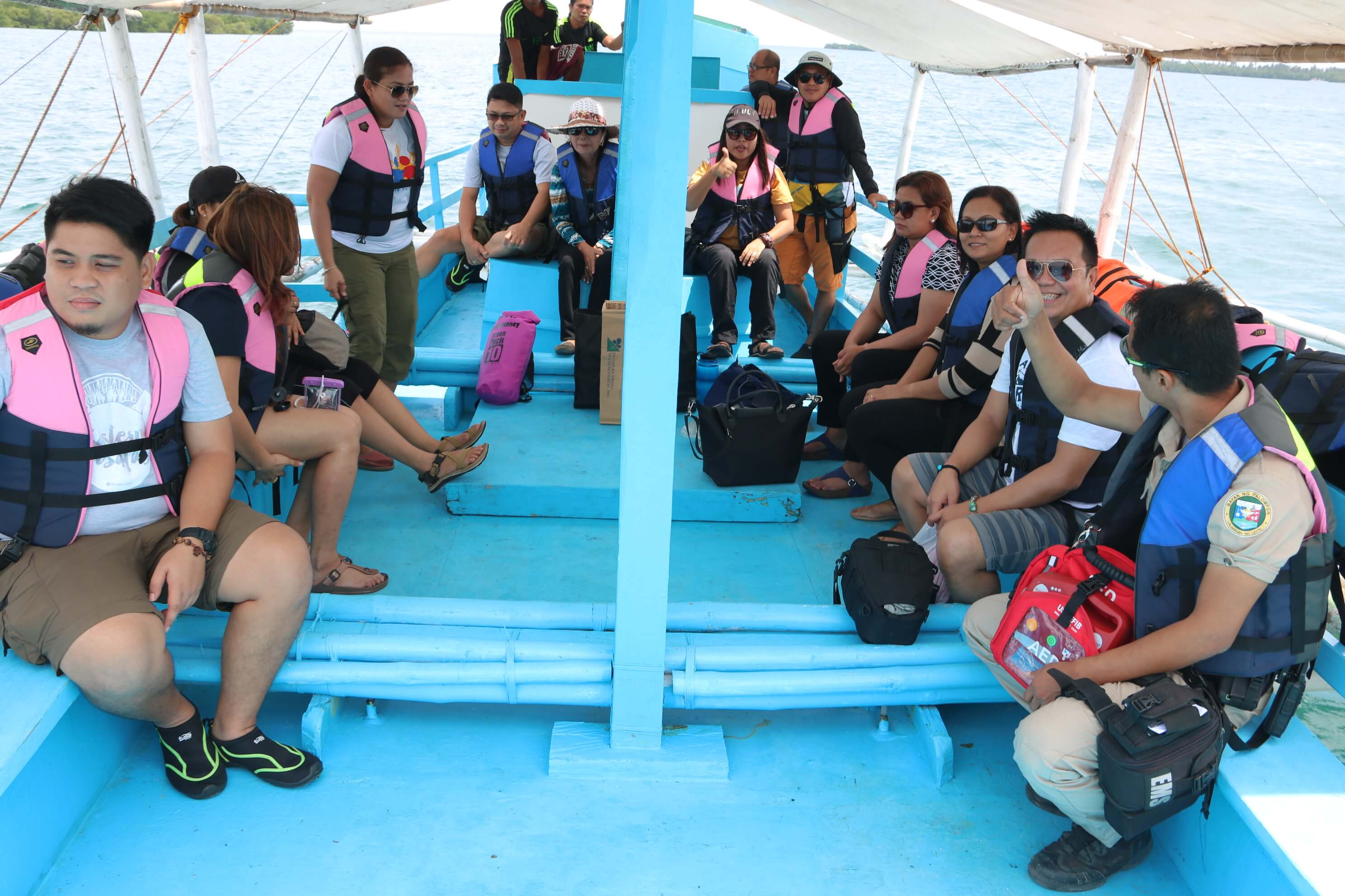 OCULAR INSPECTION AND VISIT OF SHORE EXCURSION