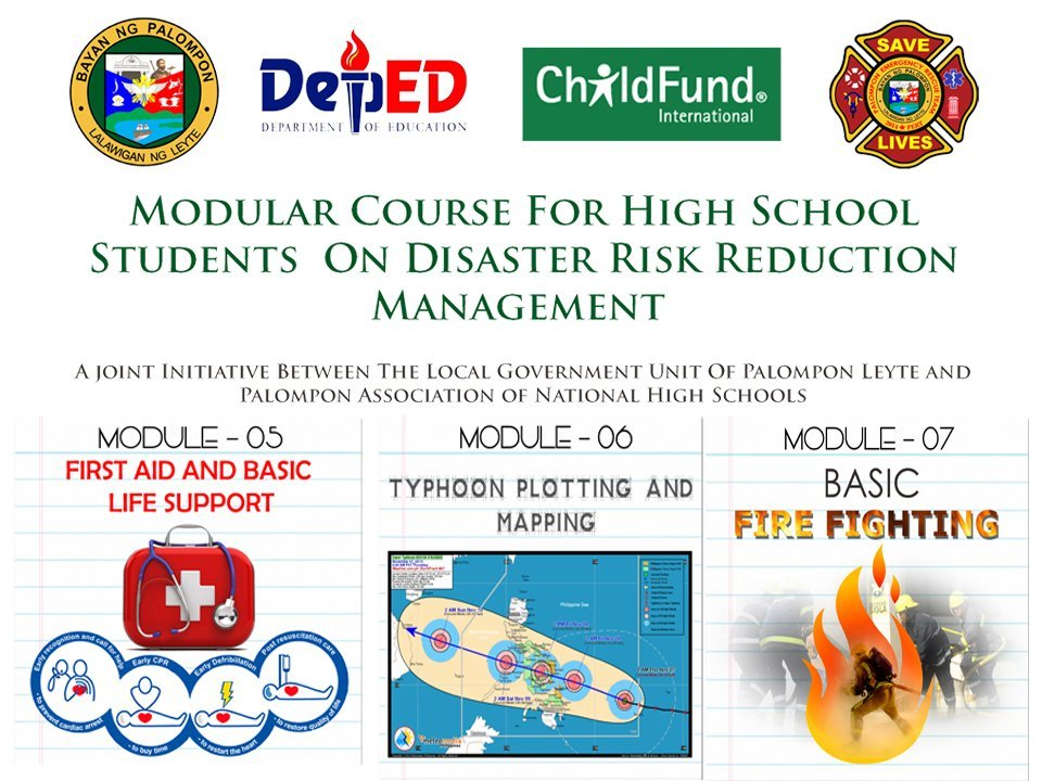 MODULE-05 FIRST AID & BASIC LIFE SUPPORT, MODULE-06 TYPHOON PLOTTING & MODULE- 07 BASIC FIRE FIGHTING.