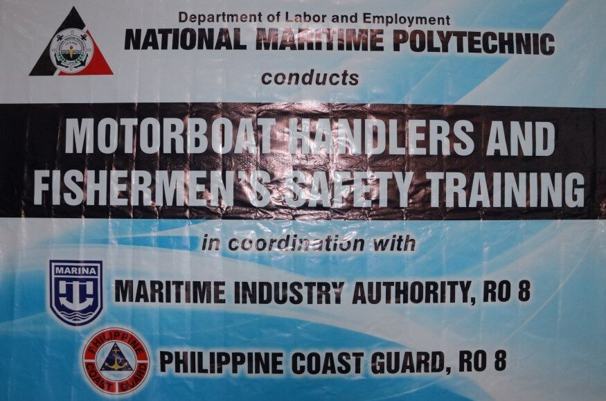 MOTORBOAT HANDLERS & FISHERMAN'S SAFETY TRAINING