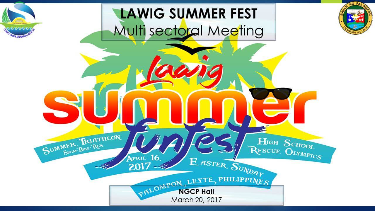 MULTI SECTORAL MEETING for Lawig Summer Funfest