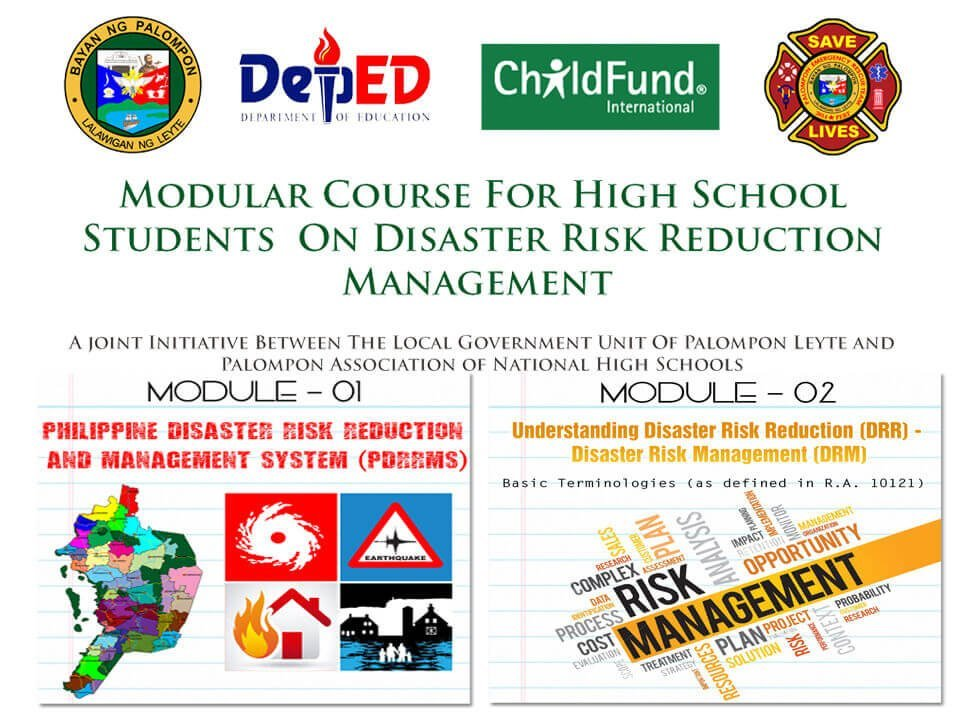 Module 1 & 2: Modular Course For High School Students On DRRM