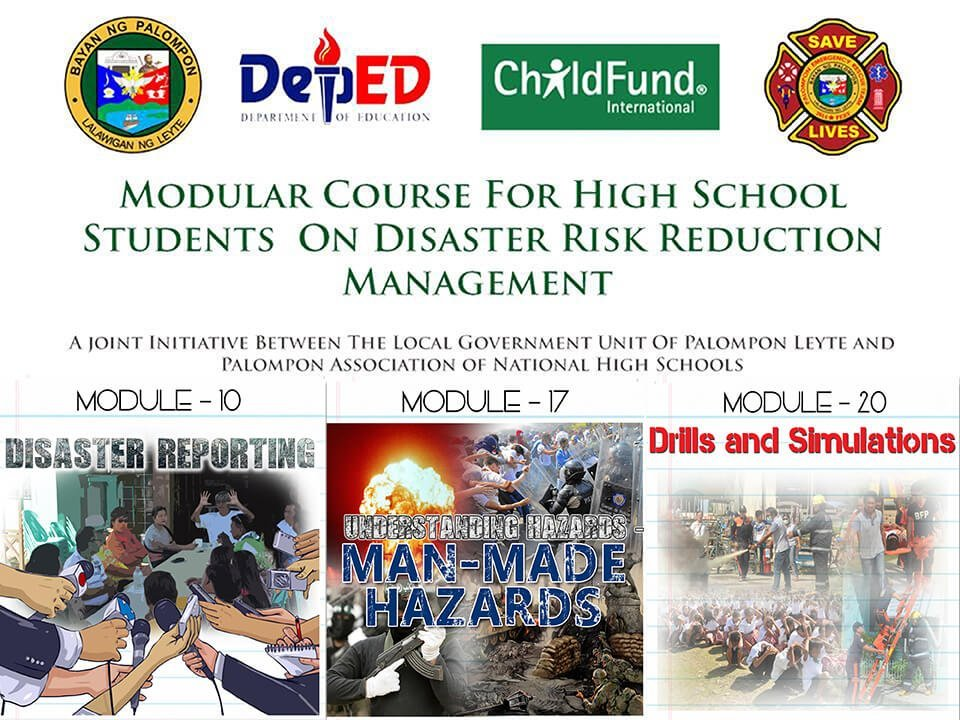 Module 10, 17 & 20 Modular Course For High School Students On DRRM