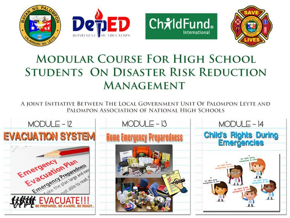 Module 12, 13 & 14: Modular Course For High School Students
