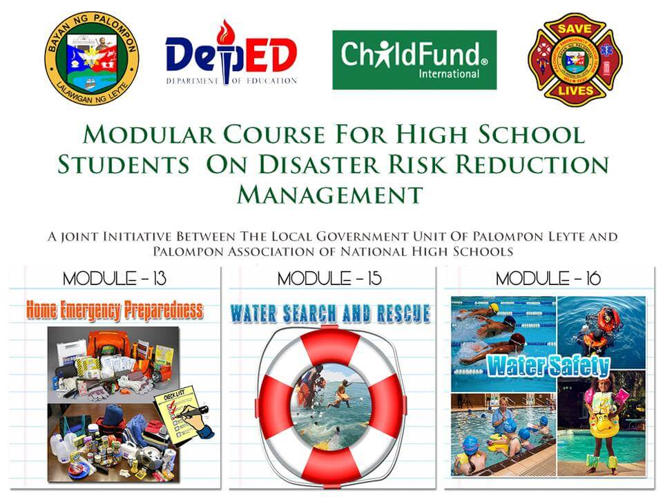 Module 13, 15 & 16: Modular Course For High School Students On DRRM