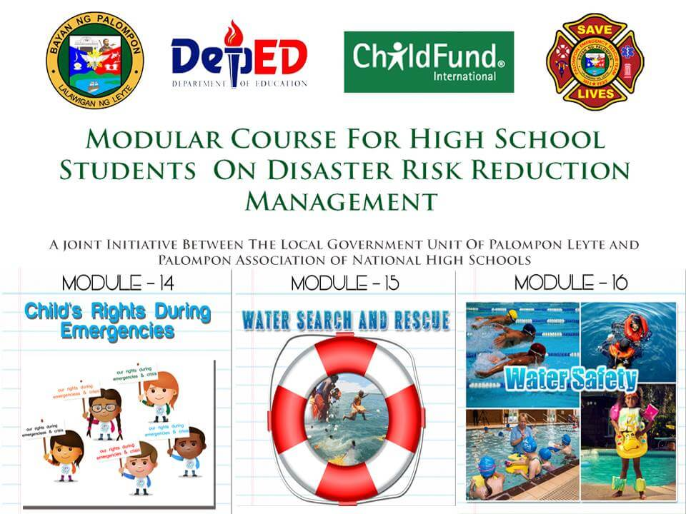 Module 14, 15 & 16: Modular Course For High School Students On DRRM