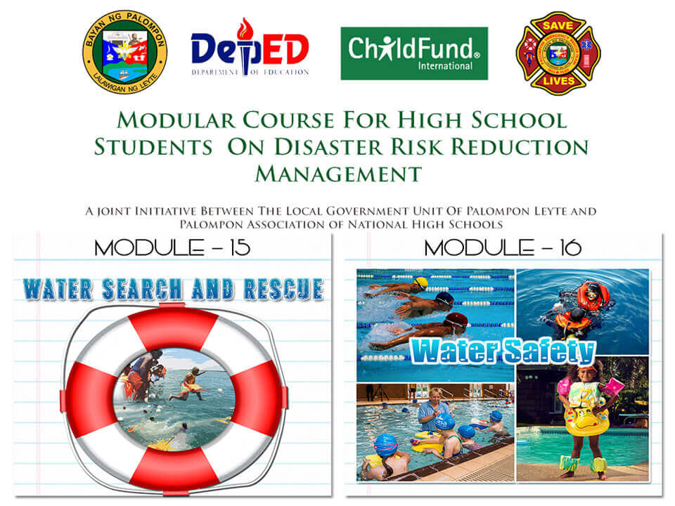 Module 15 & 16: Modular Course For High School Students On DRRM
