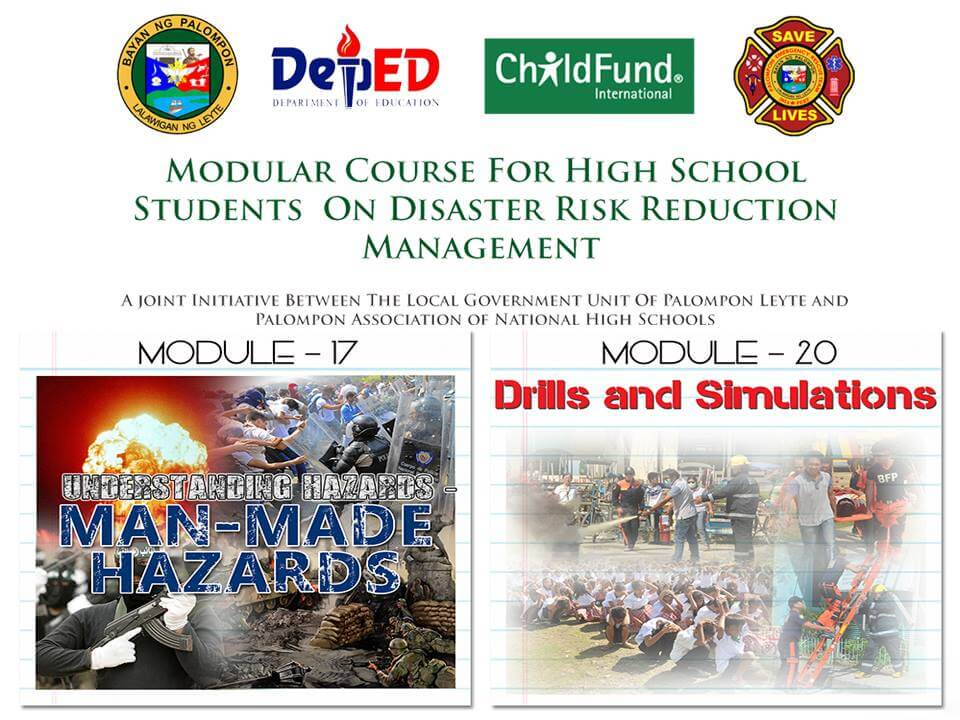 Module 17 & 20: Modular Course For High School Students On DRRM