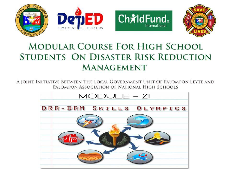 Module 21: Modular Course For High School Students On DRRM