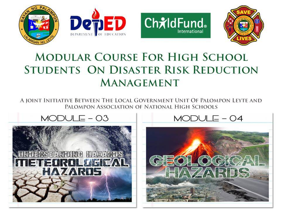 Module 3 & 4: Modular Course For High School Students On DRRM