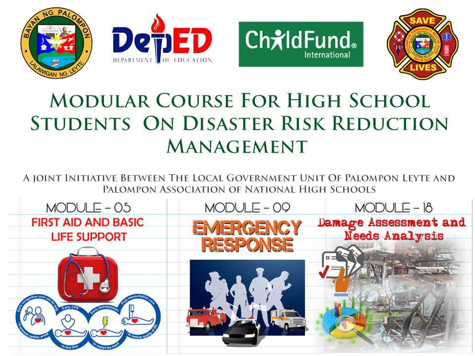 Module 5, 9 & 18: Modular Course For High School Students On DRRM