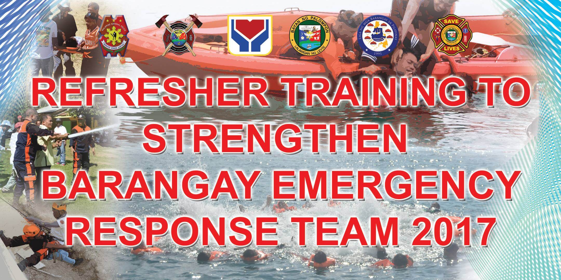 REFRESHER TRAINING TO STRENGTHEN BRGY. EMEGENCY RESPONSE TEAM-BRGY. CAMBINOY, CANTANDOY, CANGCOSME, RIZAL AND SAN PEDRO