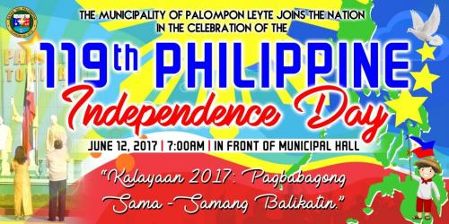 119th Philippine Independence - Palompon Leyte (1)