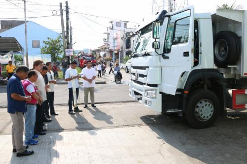 BLESSING OF NEW DUMP TRUCK (RESCUE VEHICLE) (2)