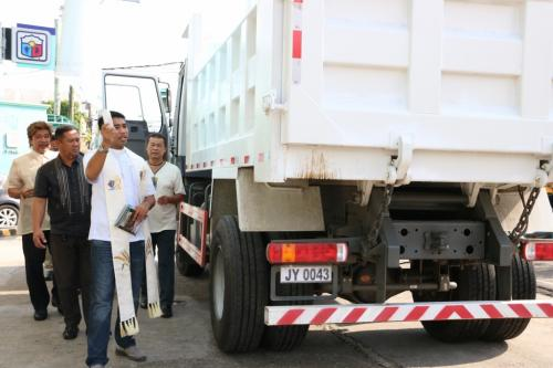 BLESSING OF NEW DUMP TRUCK (RESCUE VEHICLE) (4)