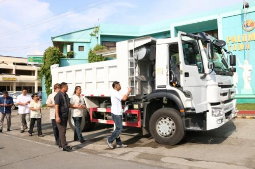 BLESSING OF NEW DUMP TRUCK (RESCUE VEHICLE) (5)