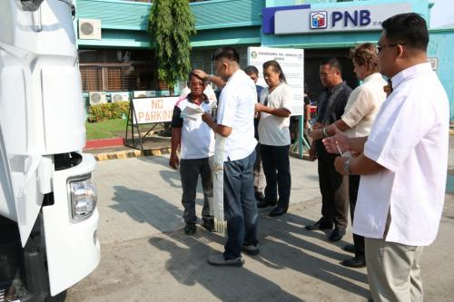 BLESSING OF NEW DUMP TRUCK (RESCUE VEHICLE) (7)