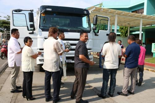BLESSING OF NEW DUMP TRUCK (RESCUE VEHICLE) (8)