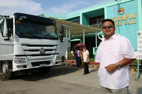 BLESSING OF NEW DUMP TRUCK (RESCUE VEHICLE) (9)