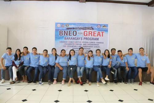 3rd Batch of BNEO for GREAT BARANGAYS PROGRAM