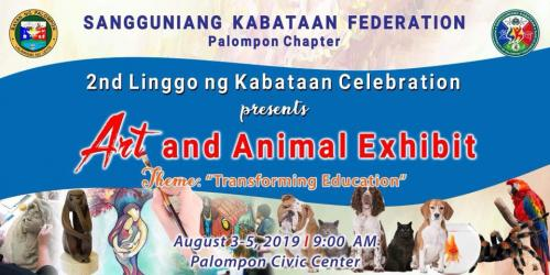 2nd Linggo ng Kabataan Celebration (Art & Animal Exhibit)
