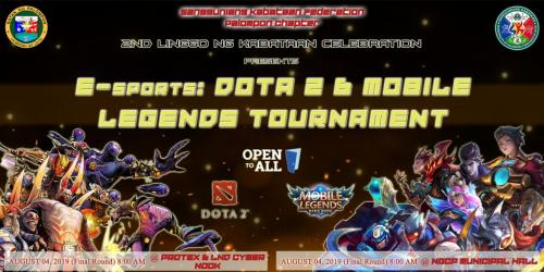Day 2 of 2nd Linggo ng Kabataan Celebration (E-sports Tournament)