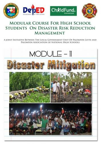 Module 6,8,11,15&16 :Modular Course High School Students On DRRM.